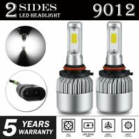 S2 9012 HIR2 LED Headlight Bulb Replace High Lo Beam 1900W 285000LM 6000K XENON