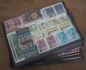 1994 San Marino, 21 komplette Jahrgänge, postfrisch/MNH, ME 884,-