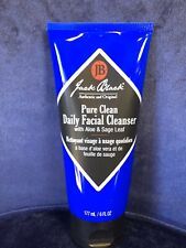 NEW JACK BLACK PURE CLEAN DAILY FACIAL CLEANSER WITH ALOE & SAGE LEAF,177ml