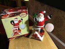 Santa Light Up Colour Changing Ornament