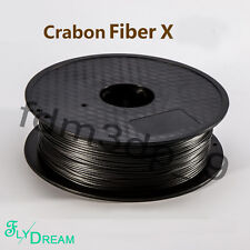 3D printer black Carbon Fiber X reinforced high strength Filament 1.75mm 1KG