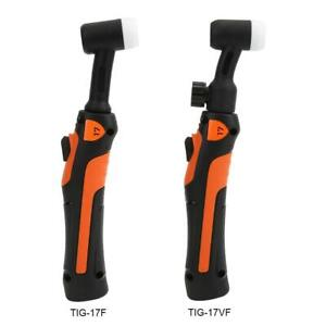 TIG Welding Torch Parts Flexible Head Body Collet Ceramic Nozzle Long Back Cap