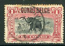 Belgian Congo 1908 Scott #37 Vfu Overprinted Y122