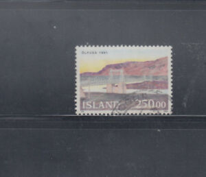 ICELAND 1992 Bridge  Sc 755  fine used