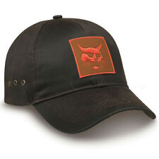 Bobcat Brown Oil Cloth Cap Logo Men's Adjustable Hook and Loop Backstrap 250959