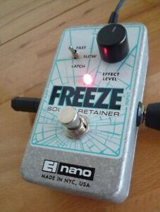 Electro Harmonix Freeze Sound Retainer Gitarren-Effekt