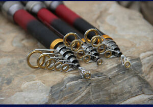 2.1~3.6m Carbon Telescopic Fishing Rod Bass Trout Fishing Travel Spinning Rod