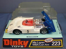 DINKY TOYS MODEL  No.223    McLAREN M8A CAN AM          MIB