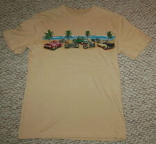 MENS Tee Shirt Vintage Motorcycles BEACH End of the Road Sm 34-36