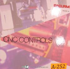 Anilam 3200MK 3300MK, Bridgeport Install, Programming & Setup Manual Year (2000)
