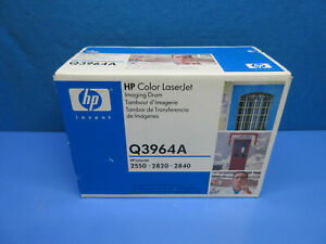 OEM HP Q3964A Color LaserJet Imaging Drum HP LaserJet 2550 2820 2840 *Sealed*