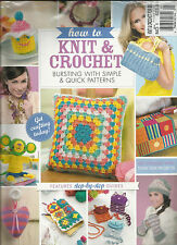 HOW TO KNIT & CROCHET BURSTING WITH SIMPLE & QUICK PATTERNS,  FREE GIFT MISSING