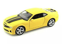 MAISTO 2010 CHEVROLET CAMARO SS YELLOW & BLACK STRIPES 1:18