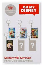 Oh My Disney Mystery VHS Key Chain -  NIB Never Opened!! From Shop Disney! WOW!