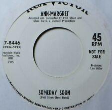 "Ann-Margret Someday Soon Mod Northern Soul Popcorn Teen Girl EX+ DJ 45 7"" Vinyl"