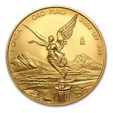 2009 1 oz Gold Mexican Libertad Coin - Brilliant Uncirculated - SKU #54244