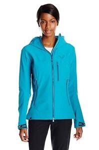 NEW Dynafit Mercury Durastretch Softshell Blue Womens Large Ski Jacket