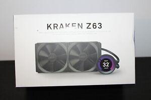 NZXT Kraken Z63 280mm Liquid Cooler With LCD Screen