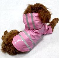 Hundemantel Regenmantel Hundebekleidung Hundejacke Luxus M Rosa NEU OVP