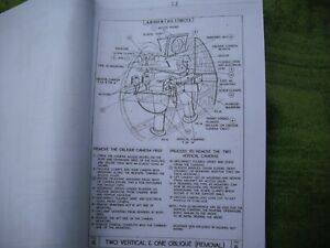 ww2 raf spitfire mk 19 manual 140 pages photo copy nice rare