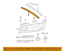 TOYOTA OEM 01-05 RAV4 Back Door-Molding Trim 7557542010