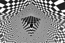 BREAKAWAY CUBE OPTICAL ILLUSION (LAMINATED) POSTER (40x50cm) NEW LICENSED ART