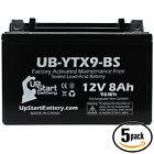 5x Battery for 2009 - 2012 Triumph Street Triple, R 675CC