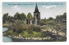 MIDLAND ONTARIO Little Flower Shrine, Martyrs' Shrine and Fort Ste. Marie