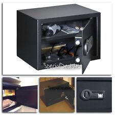 Biometric Handgun Safe Fingerprint Hand Gun Pistol Box Security Lock Key Vault