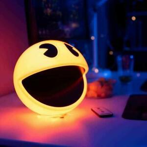 Pac-Man Lamp 3D Night Light 12 Sound Remote Control