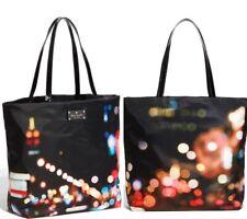 Kate Spade New York Bon Shopper Tote Bag Bright Lights Big City Purse Black mult