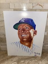Mickey Mantle 8X10 Living Legends Ron Lewis Print