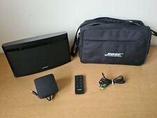 Bose SoundLink Air Digital Music System 410633 With Carry Case/Bag - Excellent !