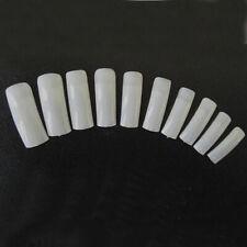 500 x Nail Tips Nagelspitzen Weiß Frenchspitzen Künstliche Fingernägel  Kit Best