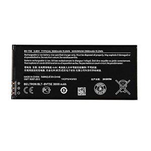 New Replacement Battery For BV-T5E Microsoft Nokia Lumia 950 3.85V 3000mAh