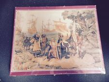 Columbus Taking Possession of the New Country Jigsaw Puzzle 500 pcs 18x24 SEALED