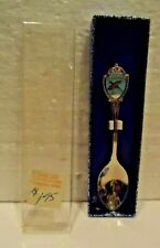 Vintage Sd Collector Spoon Pheasant 1980 Silver New In Box, made in Usa
