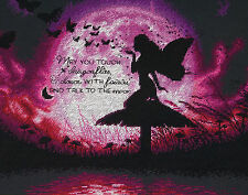 Cross Stitch Kit ~ Dimensions Butterfly Fairy Silhouette #70-35337