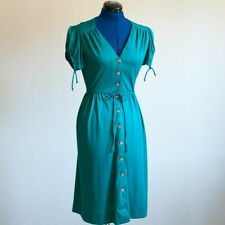 New listing 1970s Vintage Teale Button Up Dress