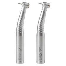 2PCS Dental LED fibra óptica handpiece Turbina Standard Head Fit KAVO New YB6