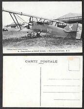 Old France Aviation Postcard - Airplane - Camp Militaire de Souge