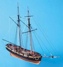 """Elegant, Detailed Wooden Model Ship Kit by Caldercraft: """"HM Schooner Pickle"""""""