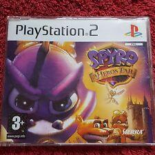 Spyro un héroe's Tail Promo SONY PLAYSTATION 2 PS2 Juego Completo