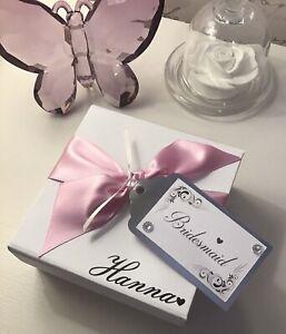Personalised Bridesmaid Gifts, Memory Keepsakes, Personalised Wedding Gifts,