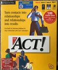 ACT! 4.0 SYMANTEC Vintage Software IBM WIN NT 95 ORIG SHRINKWRAP NEW COLLECTIBLE