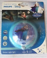 Philips Motion Sensor LED Night Light For Kids Disney Frozen Movie Design - New