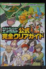 JAPAN Pokemon / Pocket Monsters: Emerald Official Kanzen Clear Guide