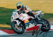 Glen Richards Hand Signed Padgetts Honda 7x5 Photo.