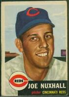 1953 Topps, Card #105, Joe Nuxhall, Cincinnati Reds