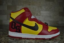 NEW Nike Dunk High Orchard Street Size 11 SB Skateboard VERY RARE Yellow Red NYC